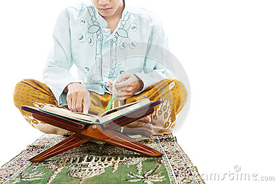Learning to read quran