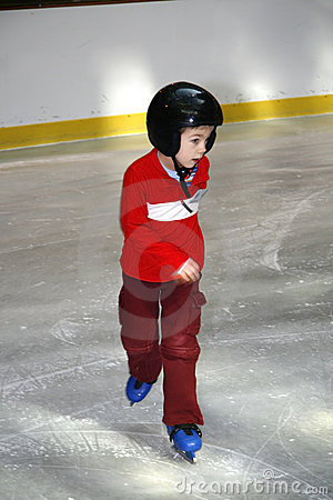 Free Learning To Skate Royalty Free Stock Photos - 4715038