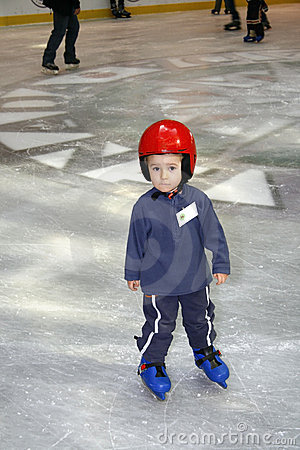 Free Learning To Skate Royalty Free Stock Photo - 4715055