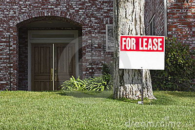 For Lease Royalty Free Stock Photo - Image: 2