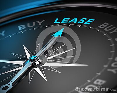Lease Vs Buy Concept Stock Images - Image: 35404164: www.dreamstime.com/stock-images-lease-vs-buy-concept-conceptual-d...