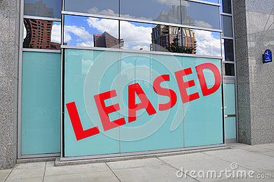 Leased Sign