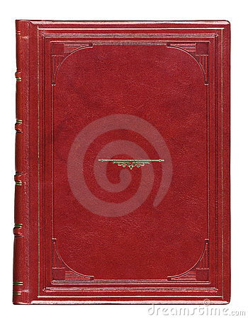 Free Leather Antique Book Cover With Engraved Royalty Free Stock Photos - 19253548