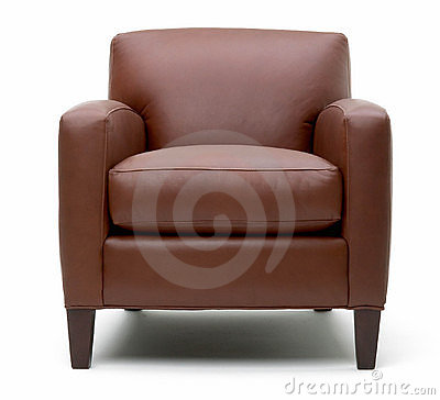 Free Leather Arm Chair Stock Image - 13192451