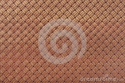 Leather background with interlaced design