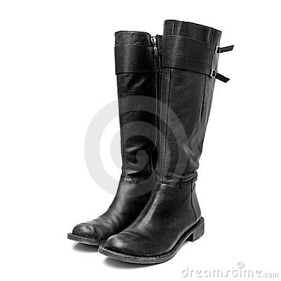 Free Leather Boots Royalty Free Stock Image - 13192196