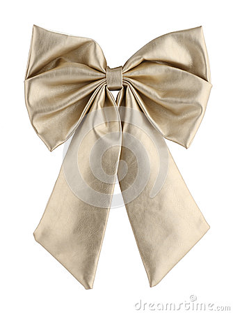 Leather bow