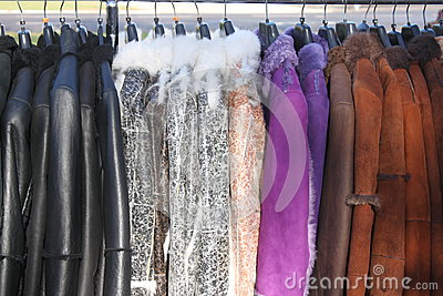 Leather Clothes Royalty Free Stock Photos - Image: 28092818