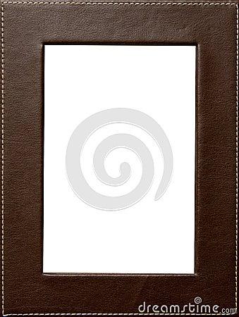 Leather frame