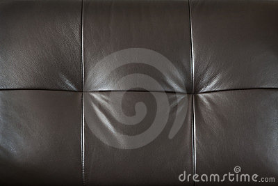Leather furniture closeup