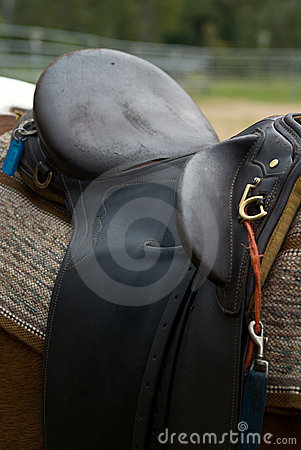 A Leather Horse s Saddle