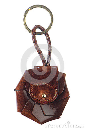 Free Leather Key Chain Royalty Free Stock Photo - 26956665