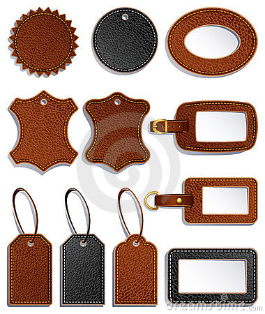 Free Leather Labels Royalty Free Stock Image - 13952766