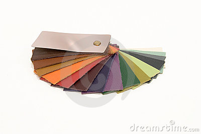 Leather Sample Colors Catalogue