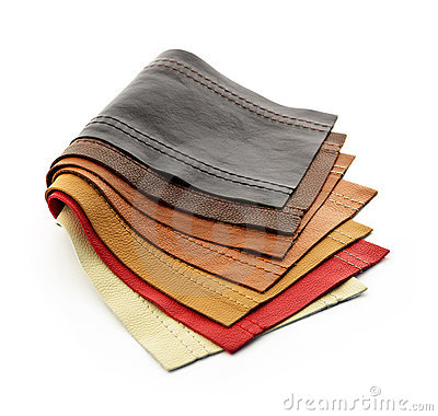 Free Leather Samples Royalty Free Stock Photos - 21382298