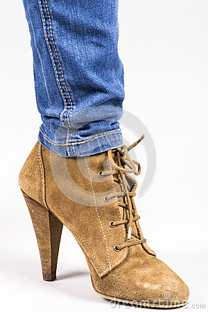 Free Leather Shoes Stock Photo - 24892700