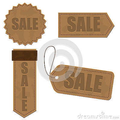 Leather sign Tags