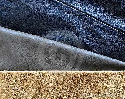 Leather structures textures