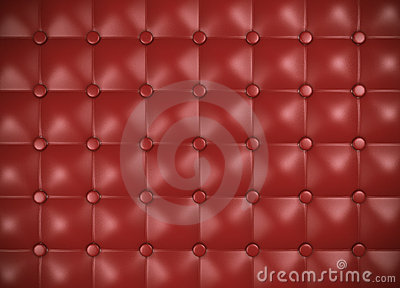 Leather upholstery pattern