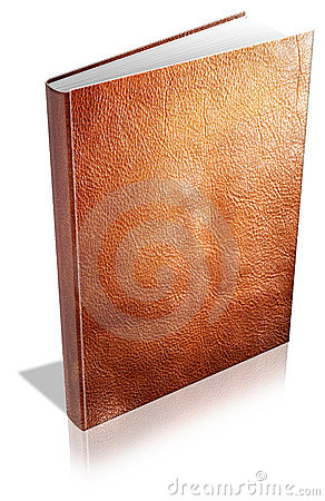 Leatherbound book cover