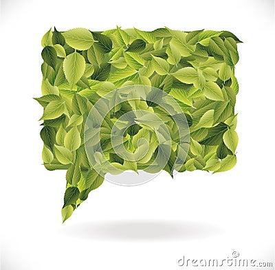 Leaves dialog