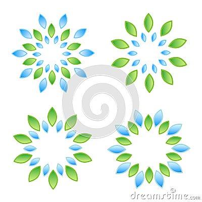 Leaves elements