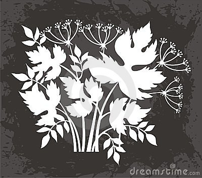 Leaves and Flowers Design