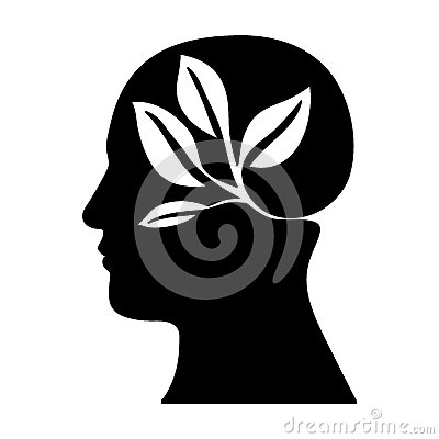 Leaves or sprout icon image Vector Illustration