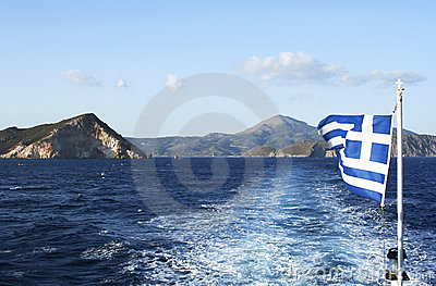 Leaving island