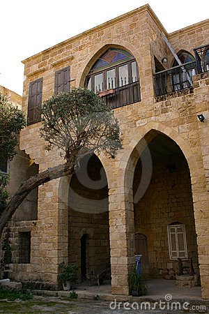 Lebanese traditional house in Batroun, Lebanon