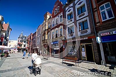 Lebork, city of Poland Editorial Photo