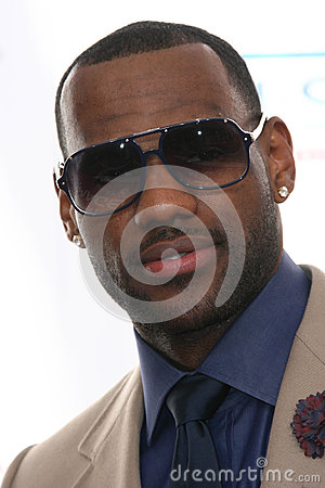 LeBron James Editorial Stock Image