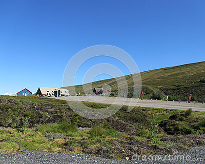Lecht Ski Area, Scotland Editorial Image