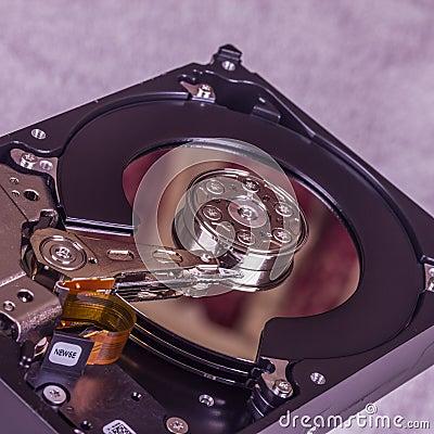Lecteur de disque dur interne