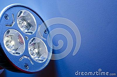 Led Bulb Closeup