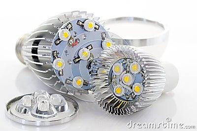 LED bulb E27 and GU10