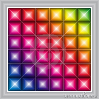 Free LED Display Background (vector) Stock Photography - 14833232