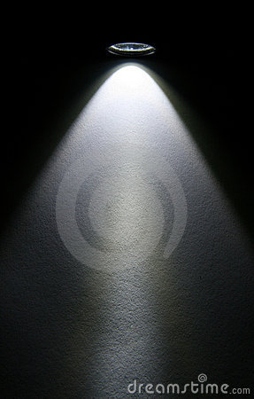 Free LED Flashlight Beam On Paper. Stock Photography - 4483222
