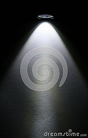 Free LED Flashlight Beam On Paper. Stock Photography - 4483222