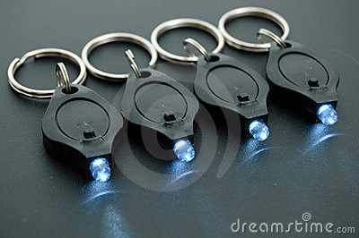 LED Keychain Micro Flashlights