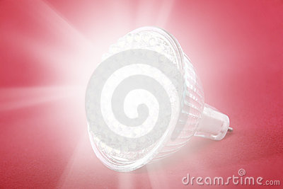 LED light bulb spot light