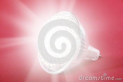 LED light bulb spot light