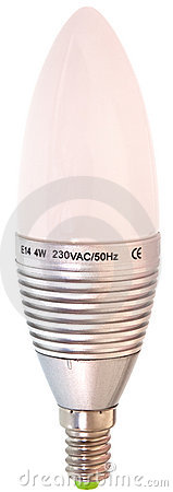 Led light with warm light