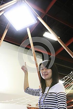 LED Sky Editorial Photo