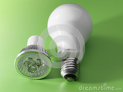 LED v/s Light Bulb