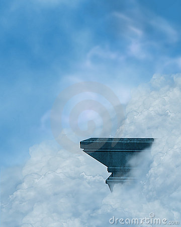 Ledge in the clouds