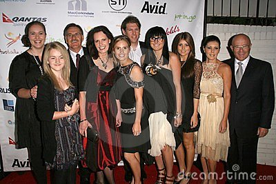 The Ledger Family at the Australian Academy Award Celebration. Chateau Marmont, West Hollywood, CA. 90046 Editorial Photography
