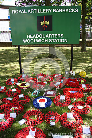 Lee Rigby commemoration Editorial Image