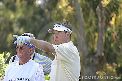 Lee Westwood, Golf Open de Andalucia 2007 Editorial Image