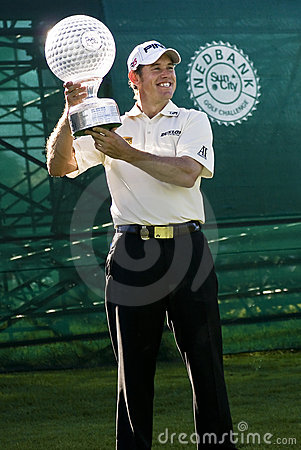 Lee Westwood - NGC2010 Editorial Stock Image